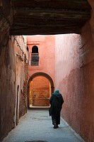 Street in the souk, Medina, Marrakech Marrakesh, Morocco, North Africa, Africa