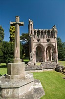 Dryburgh Abbey, near St. Boswells, Borders, Scotland, United Kingdom, Europe