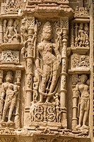 Carvings on the Sun Temple, Modhera, Gujarat, India