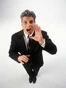 Yelling Businessman