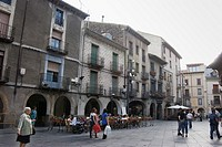PLAZA DE CATEDRA DE JACA, HUESCA, ARAGON, ESPANYA