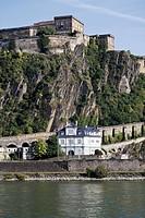 Germany, Rhineland_Palatinate, Koblenz, Fortress Ehrenbreitstein