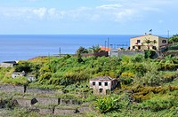 Portugal, Madeira, View of house by sea