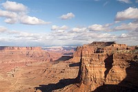 Shafer Canyon Overlook, Canyonlands National Park, Utah, USA