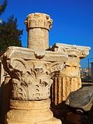 Capiteles, Anfiteatro ptolemaico, Alejandría, Egipto