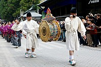Autumn Festival, samurai parade