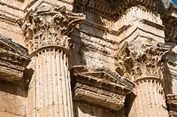 Archaeological Roman site, Baalbek, Bekaa Valley, Lebanon