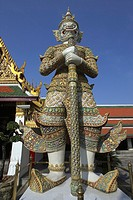 Wat Phra Kaew ,  The Grand Palace  , Bangkok , Thailand