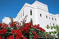 Oman, white building in Muscat