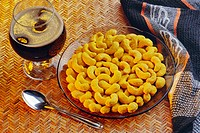 Butter scotch flavoured cashew nuts , India