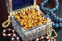 Masala flavoured cashew nuts , India