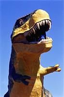 World highest Dinosaur , Drumheller , Alberta , Canada