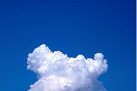 Cumulonimbus clouds in sky