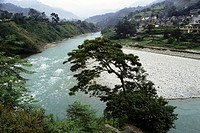 River Ram Ganga , Thal , Uttaranchal Uttarakhand , India