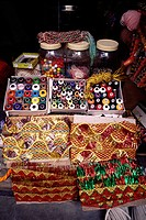 Craft and materials in Shop , Bhuj , Kutch , Gujarat , India
