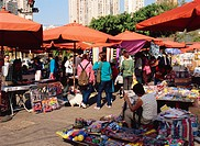 Sunday market at Taipa, Macau