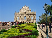 Ruins of St. Paul´s Cathedral, Macau