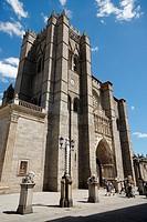 Romanesque Cathedral of San Salvador de Avila, Spain