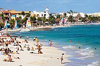 Main beach, Playa del Carmen, State of Quintana Roo, Peninsula Yucatan, Mexico