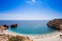 Sandy beach at Melonar bay, Province Granada, Andalucia, Spain