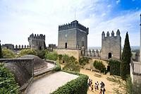 Castle of Almodovar del Rio Guadalquivir, Province Cordoba, Andalucia, Spain