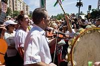 Annual festival, feria de Malaga, Province Malaga, Andalucia, Spain