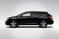 2010 Toyota Venza in Black _ Drivers Side Profile