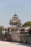 Diaolou Watch Tower of Majianglong Village, Kaiping, Guangdong Province, China