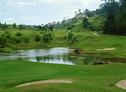Golf course at Genting Highlands, Malaysia