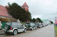 City, Colônia Britânica, Atlântico Ocean Sul, Malvinas Island, Falkland, Port Stanley