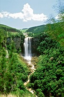 The Karkloof Falls in South Africa´s Kwazulu_Natal Province.