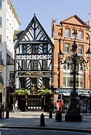 The George pub, Strand, London, England.