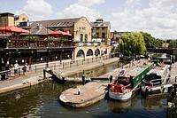Camden Lock Market, Camden Town, London, England.