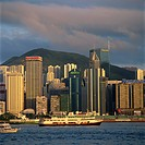 Causeway Bay skyline from Kowloon, Hong Kong