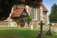 Built of brick and flint, the oldest parts of St Mary the Virgin date from the early 14th Century. The church is home to a number of outstanding medie...