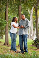 fort lauderdale, florida, united states of america, a couple walking through a park