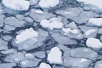 Blizzard conditions cause the ocean´s surface to begin to freeze in Dahlmann Bay, Antarctica, Southern Ocean  MORE INFO First signs of grease ice as t...