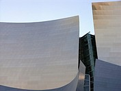 Detail of Walt Disney Concert Hall, USA, California, Los Angeles, Frank Gehry, Architect