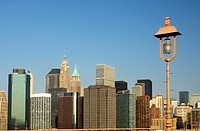 Skyline of Lower Manhattan with the Financial District, Manhattan, New York, USA