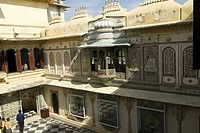 External Details, City Palace, Udaipur, Rajasthan, India
