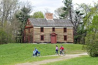 Historic Hartwell Tavern in Minuteman National Park, Concord Massachusetts