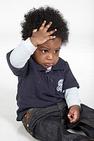 African-American baby boy