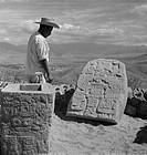 Monte Alban Zapotec Oaxaca Mexico
