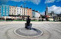 Statue in a park, Navigator Statue, Cobh, County Cork, Ireland
