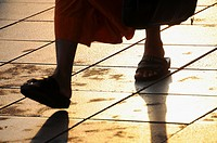 The Walk of a Monk