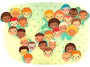 Multi_racial people across the world
