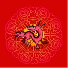 Chinese new year symbol of dragon