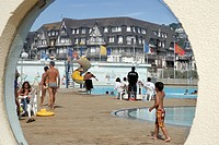 WATER SPORTS COMPLEX, TROUVILLE_SUR_MER, CALVADOS 14, NORMANDY, FRANCE