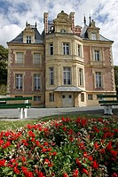 VILLA MONTEBELLO, MUSEUM OF TROUVILLE_SUR_MER, CALVADOS 14, NORMANDY, FRANCE