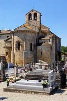 Romanesque Church of Saint Jean Baptiste, Saint-Jean-de-Verges, Ariege, Midi-Pyrenees, France